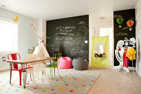 Land Of Nod Playroom 6th Street Design School Via Remodelaholic