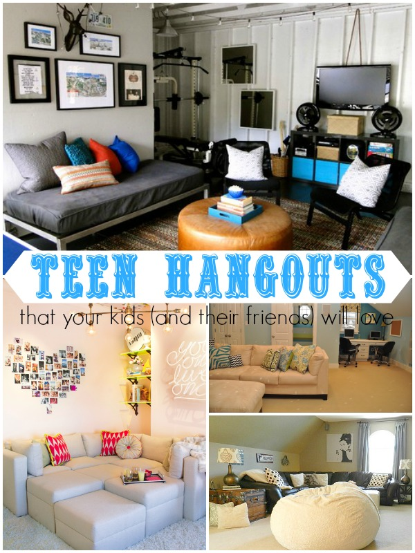 Remodelaholic | Top Ten Teen Hangout Areas and Link Party