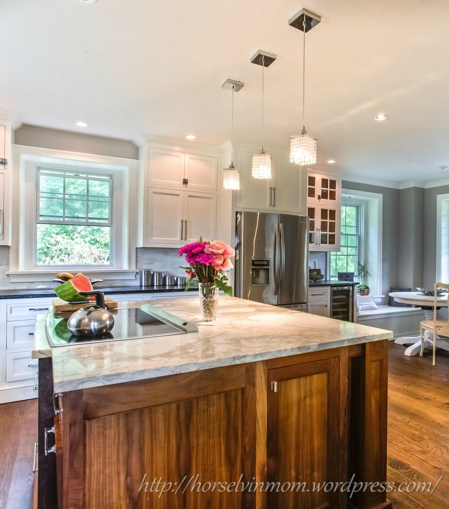 Exceptionnel Chic White Country Kitchen Remodel | Stable Living Featured At  Remodelaholic.com #kitchen #