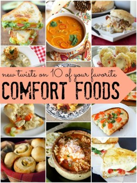 new twists on traditional comfort foods via Remodelaholic.com