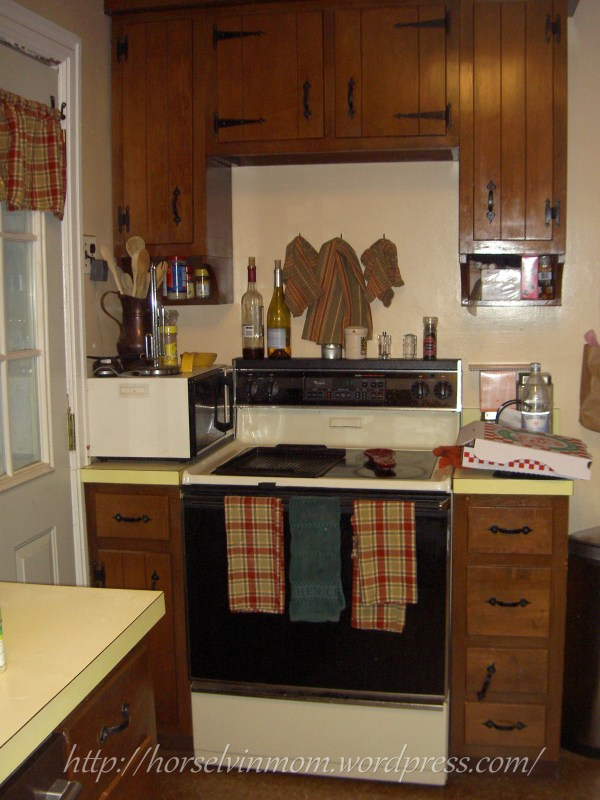 white country kitchen remodel before