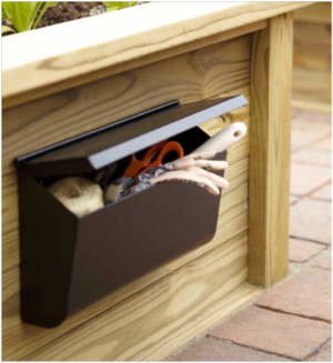 mailbox to organize gardening tools, Lowe's Idea Library via Remodelaholic