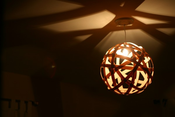 Delightful Moooi Random Pendant Knock Off Diy Tutorial, Our Humble Abowed Featured On  Remodelaholic