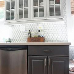 Gray Kitchen Backsplash Sunflower Accessories Grey Cabinets  Quicua