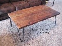 Remodelaholic | Build A Modern Coffee Table and Matching ...