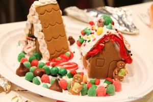 Gingerbread houses free template-11