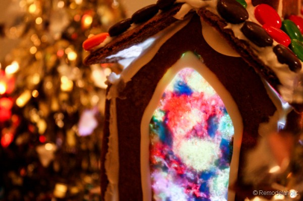 Gingerbread houses free template-3-2