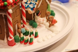 Gingerbread houses free template-9