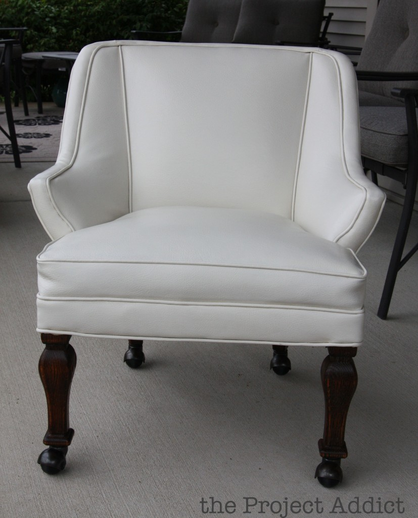 Awe Inspiring Remodelaholic How To Restore An Old Leather Chair Ocoug Best Dining Table And Chair Ideas Images Ocougorg