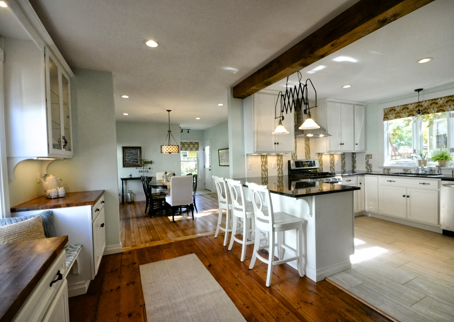 Attractive Create An Open Kitchen And Dining Area | SoPo Cottage Featured On  Remodelaholic.com #