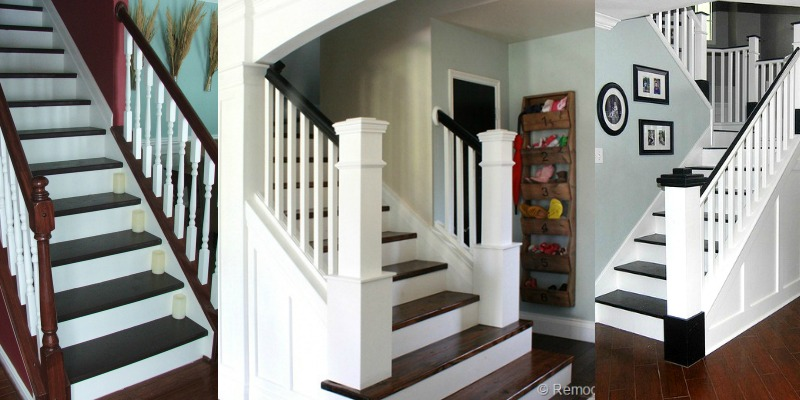 Wonderful Top Ten Stair Makeovers And Link Party