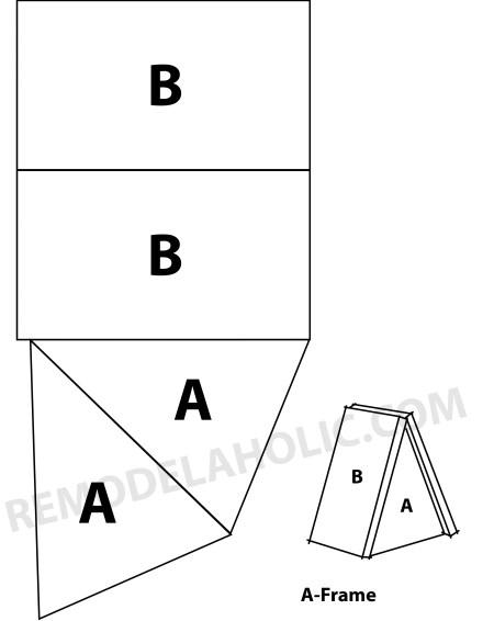 a-frame pattern