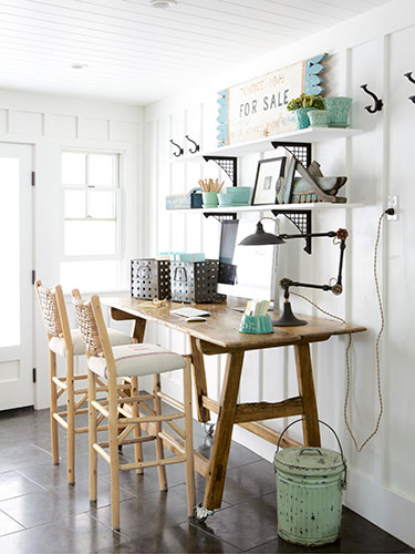 shared office, Country Living