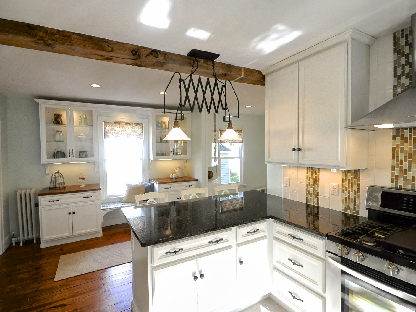 updating kitchen cabinets hydroponics herb garden remodelaholic | creating an open and dining room