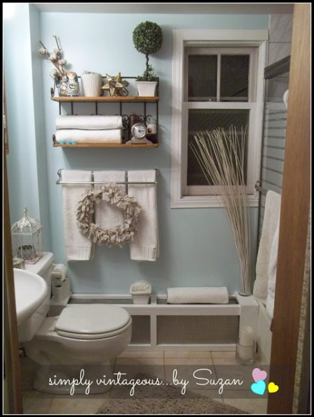 01-17 bathroom makeover, Simply Vintageous