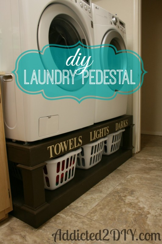 01-24 diy laundry pedestal, Addicted 2 DIY
