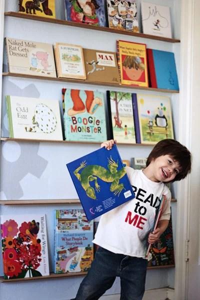 01-24 forward facing bookshelves, Tried and True