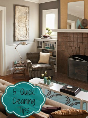 5 Keep your House Clean tips