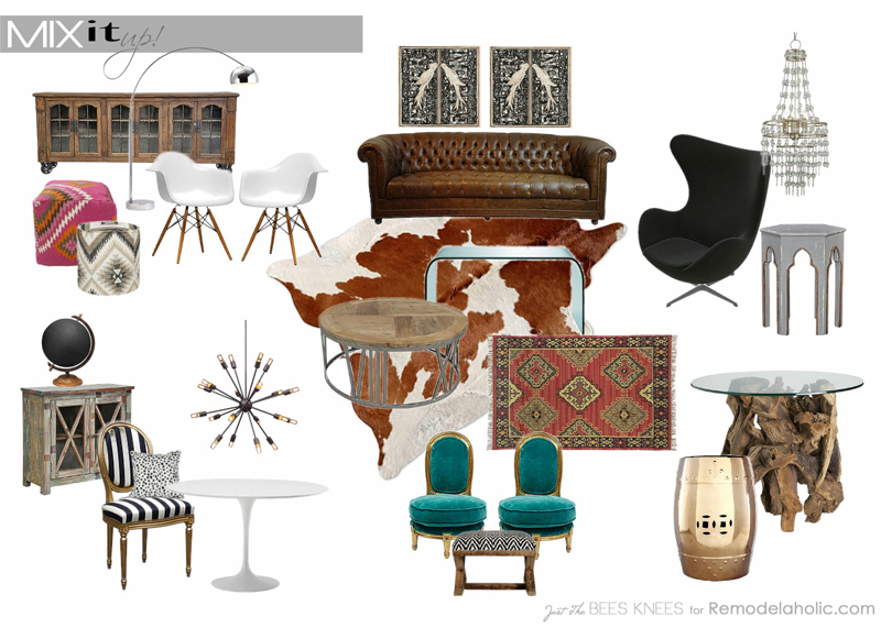 Remodelaholic Mix It Up The Dos and Donts of Mixing Decor Styles
