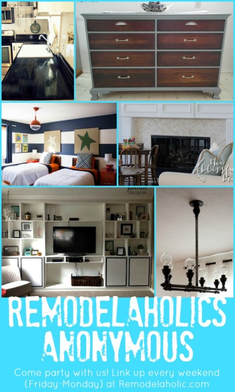 Remodelaholics Anonymous Link Party Features | Remodelaholic.com #remodelaholicsanon #linkparty #diy #homedecor