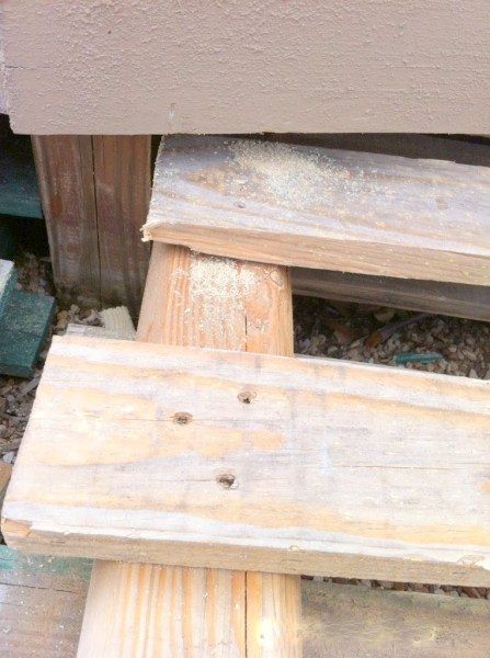 building pallet wood deck, The Second Wind of Texas featured on Remodelaholic