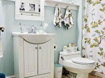 Remodelaholic | Chic Budget Bathroom Makeover for Under $100