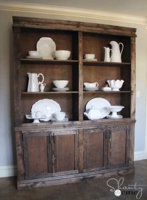diy kitchen hutch sideboard, Shanty 2 Chic