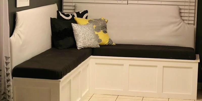 Remodelaholic Build A Custom Banquette Corner Bench
