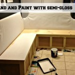 Remodelaholic Build A Custom Banquette Corner Bench
