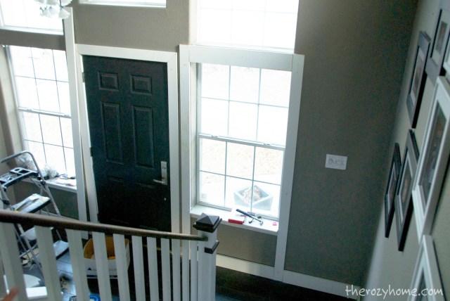 Step 4: Trim the windows.