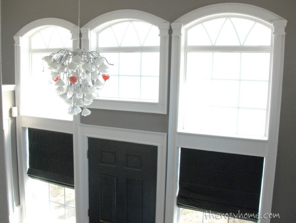 trim molding on arched windows, The Rozy Home featured on Remodelaholic