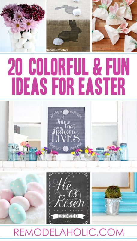 25 Fun and Colorful Ideas for Easter