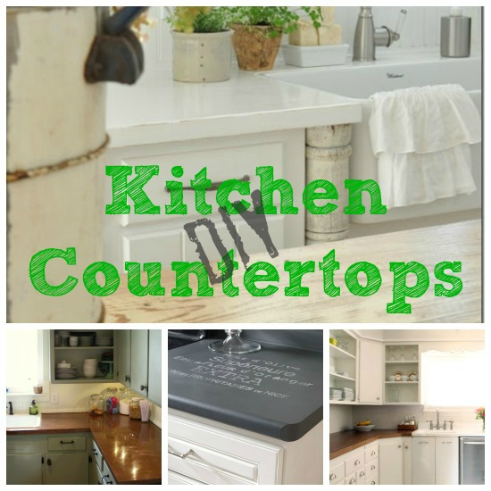 Diy kitchen countertops update your kitchen on a budget with these affordable diy kitchen countertop options from solutioingenieria Images