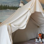 Remodelaholic Camping Tent Bed In A Kid S Woodland Bedroom
