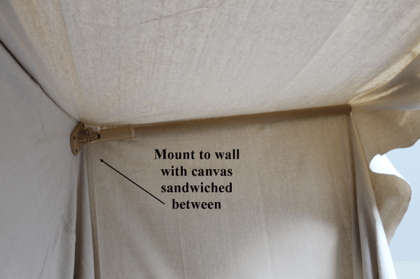 construct an indoor camping tent bed for kids, The Ragged Wren on Remodelaholic