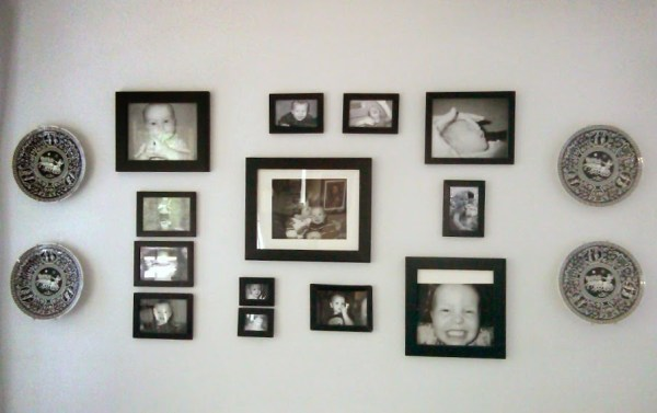 Easy DIY Wall Decor Ideas Black And White Gallery Wall
