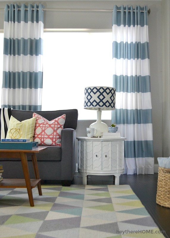 Grommet Top Curtains, By Hey There Home