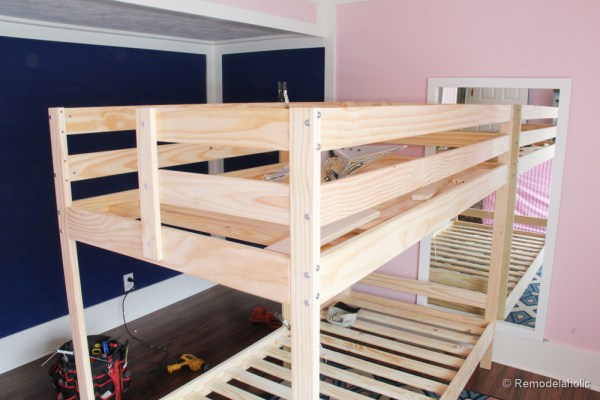 how to build a Bunk bed playhouse tutorial (5 of 40)