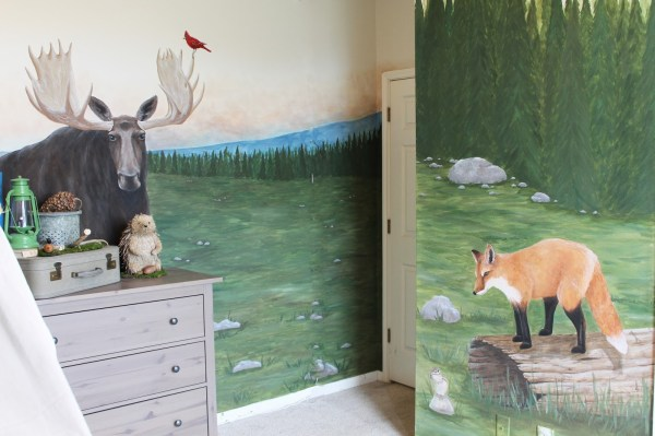 how to create a woodland themed kids room, The Ragged Wren on Remodelaholic