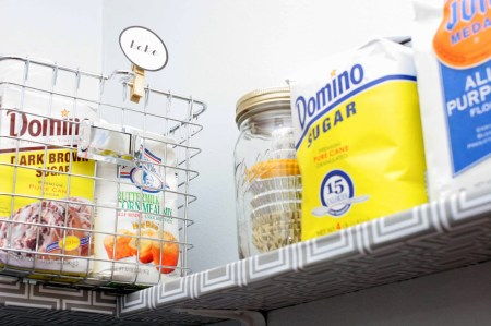 organized pantry makeover, Craftivity Designs on Remodelaholic