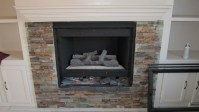 Fireplace Makeover with Built-In Shelves - Construction ...