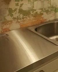 Remodelaholic | $30 DIY Faux Marble Countertops
