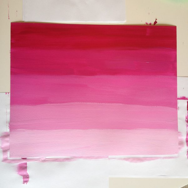 finished pink