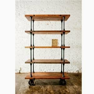 inspiration industrial shelf, Sawdust 2 Stitches on Remodelaholic