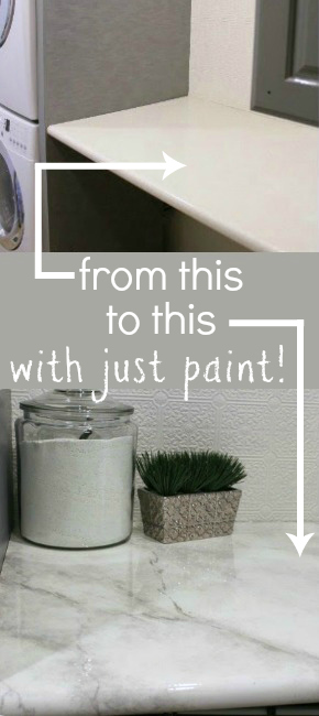 Delicieux Amazing Tutorial    Paint Your Own Faux Marble Countertops! #remodelaholic