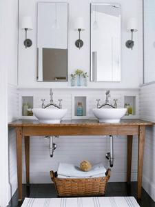 rustic white bathroom thumb