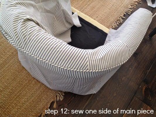 tub chair step 12