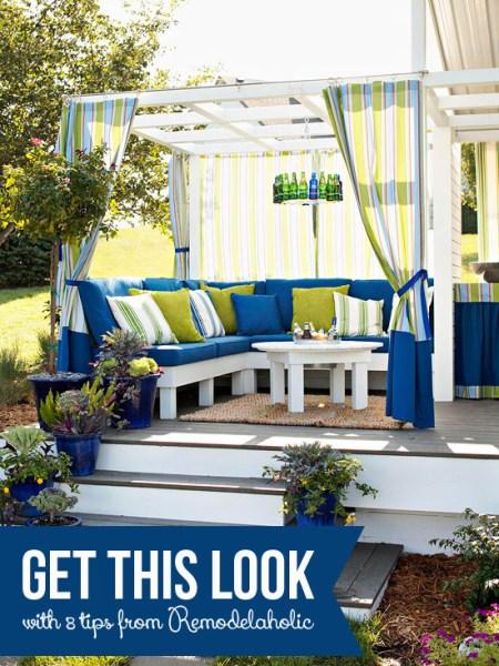 Get This Look: Cozy Outdoor Room