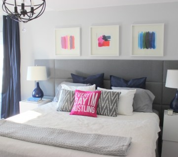 How to Build a Tufted Panel Headboard | Home Coming for Remodelaholic.com