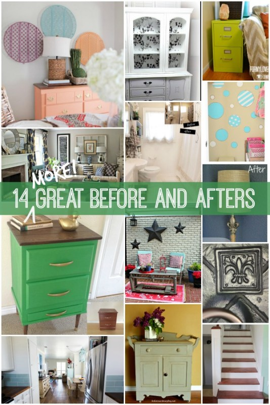 More great before and afters to inspire you! via Remodelaholic.com